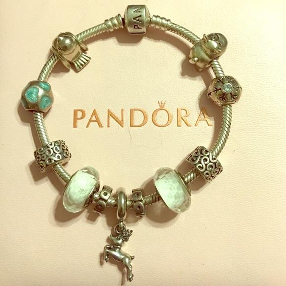 cb6af8d27 Pandora bracelet w/charms